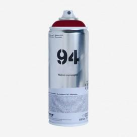 Bombe de peinture Montana MTN 94 - Rouge Bordeaux