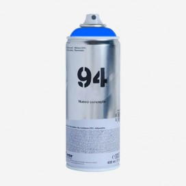Bombe de peinture Montana MTN 94 - Bleu Fluorescent