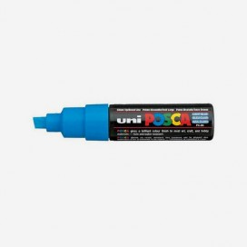 LIGHT BLUE POSCA PAINT MARKER (8mm wide chisel tip)