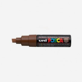 BROWN POSCA PAINT MARKER (8mm wide chisel tip)