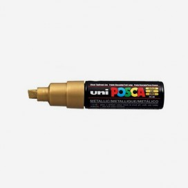 GOLD POSCA PAINT MARKER (8mm wide chisel tip)