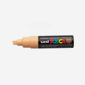 LIGHT ORANGE POSCA PAINT MARKER (8mm wide chisel tip)