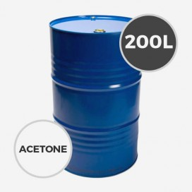 ACETONE - 200 LITERS BARREL