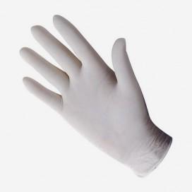 Paire de gants en latex, à usage unique