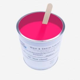 Pigment couleur rose fluorescent - 500 gr, WEST & SENIOR