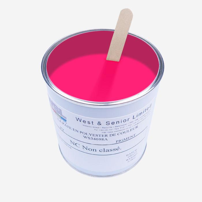 Fluorescent Pink tint pigment