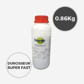 0,86 kg de durcisseur epoxy SD Surf Clear SUPER FAST EVO, SICOMIN
