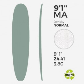 9'1'' Machine All EPS - 9'1,68'' x 24,29'' x 3,81'' - sans latte, MARKO FOAM
