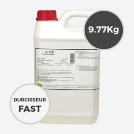 9.77 kg de durcisseur époxy SD Surf Clear FAST EVO, SICOMIN