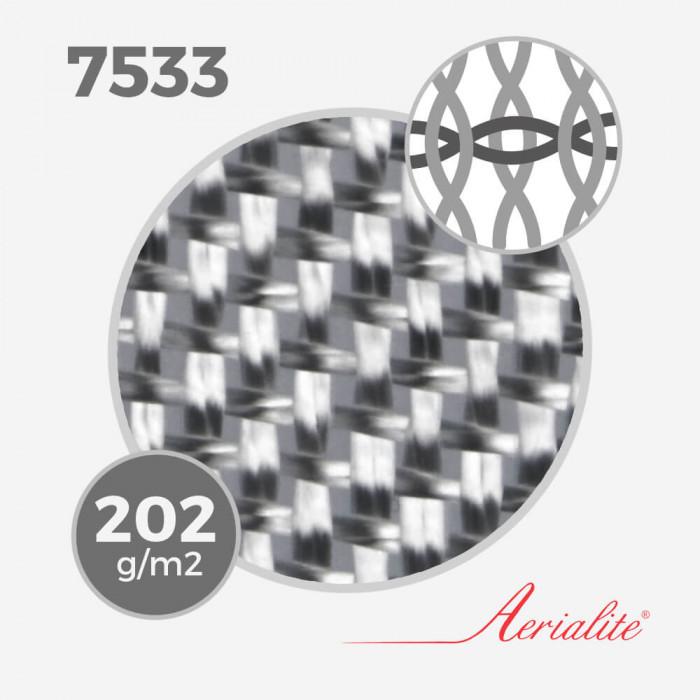Tissu de fibre de verre ref 7533 - 6Oz (202 grs) - largeur 80cm, AERIALITE