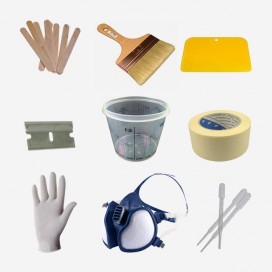 Kit de instrumentos para laminar