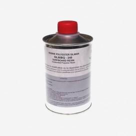 Résine polyester 249 A - 250ml, SILMAR