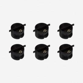 Jeu-set de 6 inserts-plugs pour dérives - NOIR - Thruster