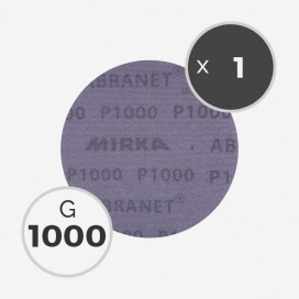 Disque abrasif Abranet diamètre 150mm - grain 1000, MIRKA