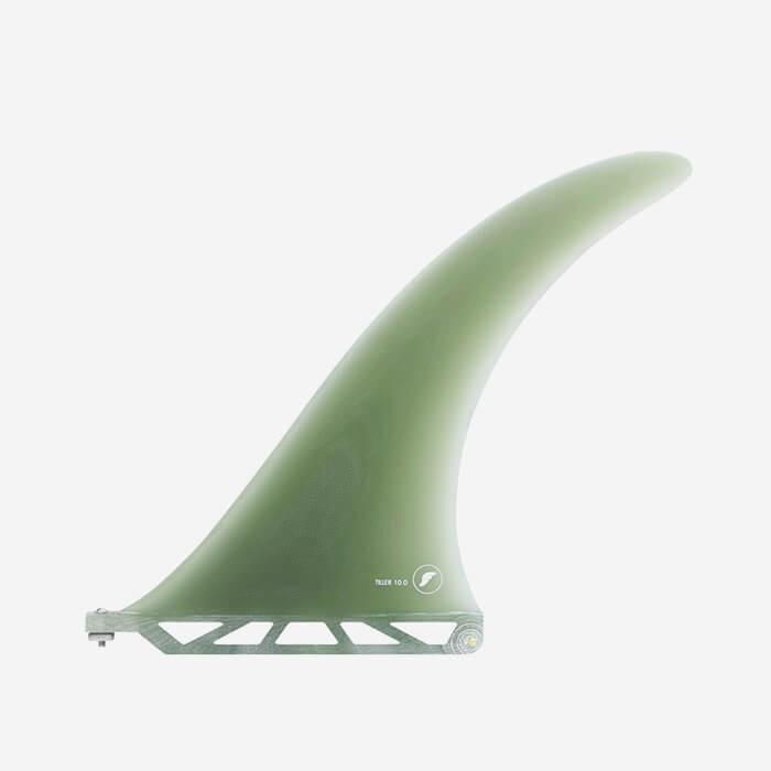 """Longboard fin - Tiller Volan Fiberglass 10.0"""", FUTURES."""