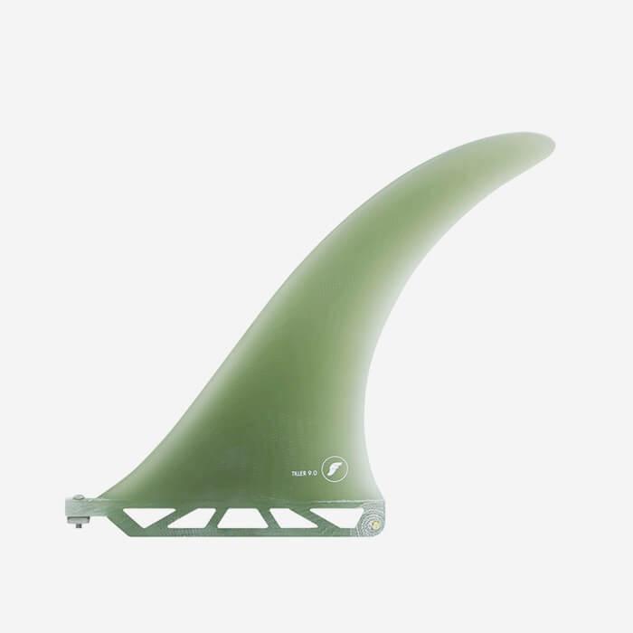 """Longboard fin - Tiller Volan Fiberglass 9.0"""", FUTURES."""