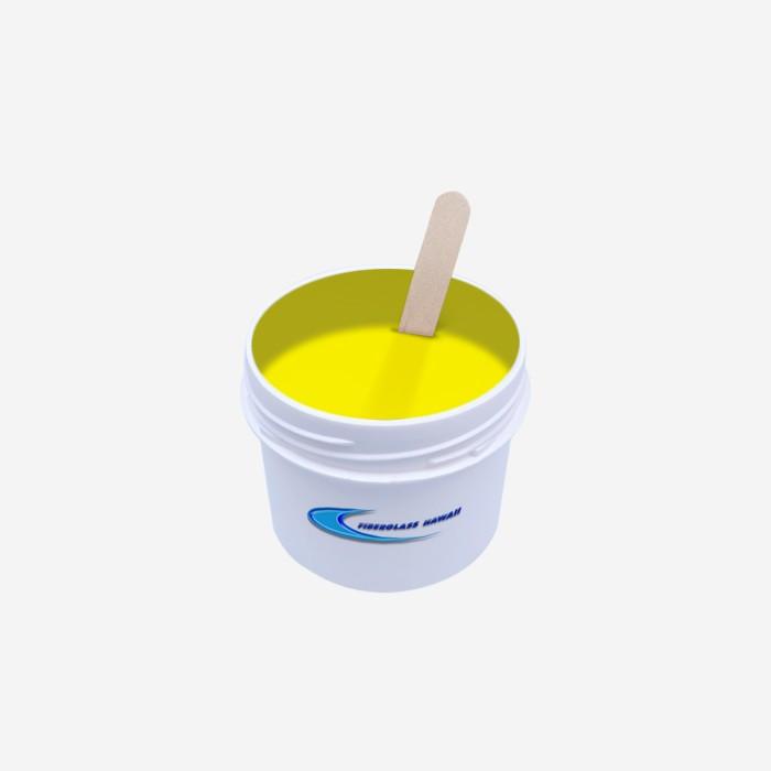 Pigment translucide couleur Yellow (30gr), FIBERGLASS HAWAII