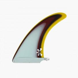 """7.5"""" longboard single fin - Light Blue - VIRAL Surf"""