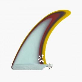 """8.5"""" longboard single fin - Light Blue - VIRAL Surf"""