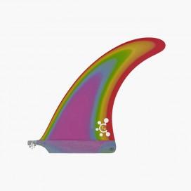 "7.5"" longboard single fin - Old Rainbow - VIRAL Surf"
