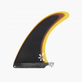 "8"" longboard single fin - Smoke to gold - VIRAL Surf"