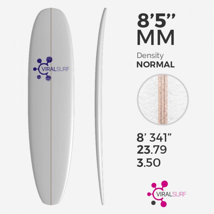 8'5'' Mini Malibu, VIRAL Surf