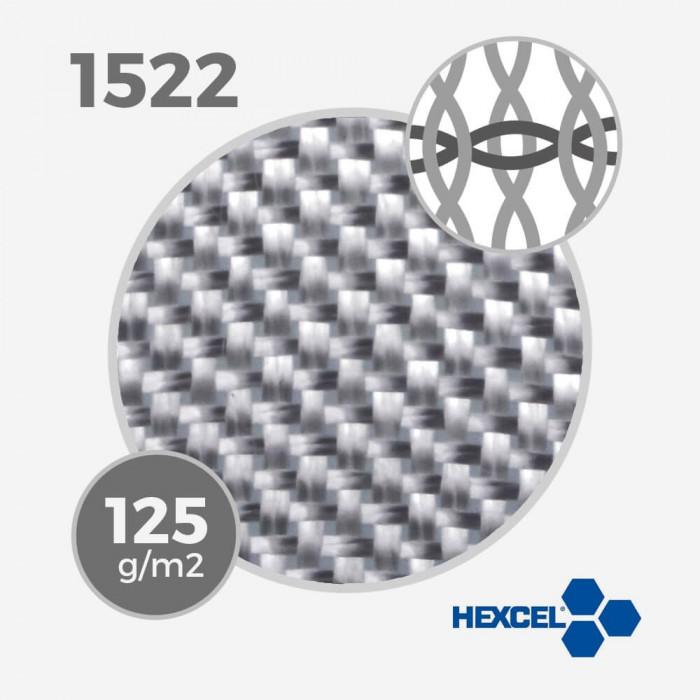 HEXCEL 1522 - 4 oz - 125 gr/m - largeur 65cm, tissu / fibre de verre HEXCEL pour la stratification d'une planche de surf - VIRA