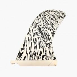 Dérive Longboard Flex fin - Andy Davis Bolts Multi 10'', CAPTAIN FIN CO