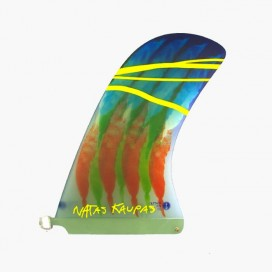 CAPTAIN FIN CO - Longboard Fin - Natas Kaupas Grey 10''