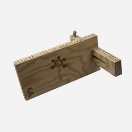 Trusquin en bois