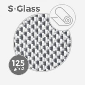 Tissu de fibre de verre S ref S-GLASS - 4 oz - 125 gr/m - largeur 76cm (rouleau), HEXCEL