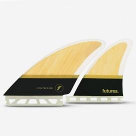 Dérives Quad - CONTROLLER Fiberglass black, FUTURES.