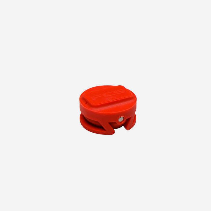 FCS Leash plug orange tang