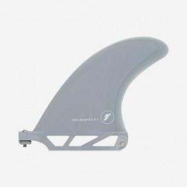 """Performance longboard fin : Taille - 4.5"""", Couleur - Smoke, FUTURES."""