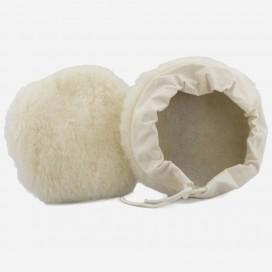 Gorro de pulido 100% lana con cordon