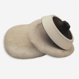 Interface de polissage velcro en peau de mouton pour pad de 150mm, FLEXIPADS