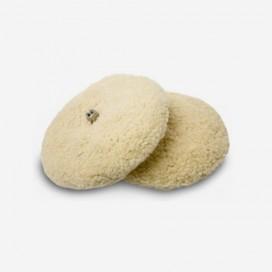 Plateau de polissage double face en véritable laine de mouton, 3M