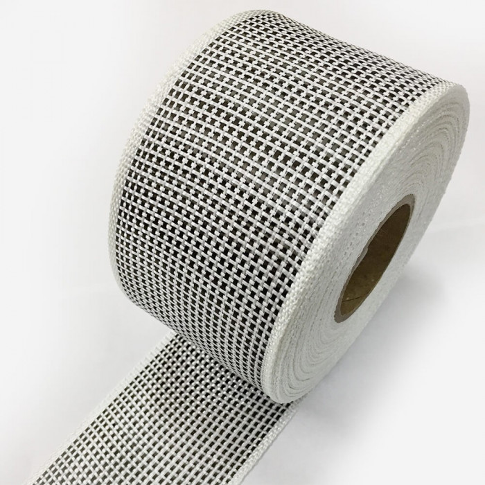 Bande de renfort hybride fibre de verre et carbone, largeur 80mm