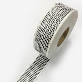 Bande de renfort hybride fibre de verre et carbone, largeur 45mm