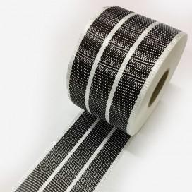 Banda de refuerzo carbono y fibra de vidrio