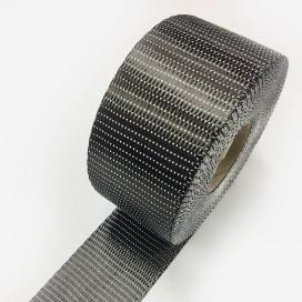 Bande de renfort carbone uni-directionnelle, largeur 65mm