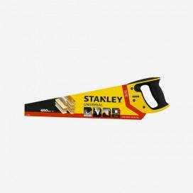 Scie égoïne universelle moyenne et petite section - longueur 450mm, STANLEY