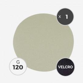 Disque à poncer - diam. 205mm - grain 120 (1 disque) - White Line, 3M
