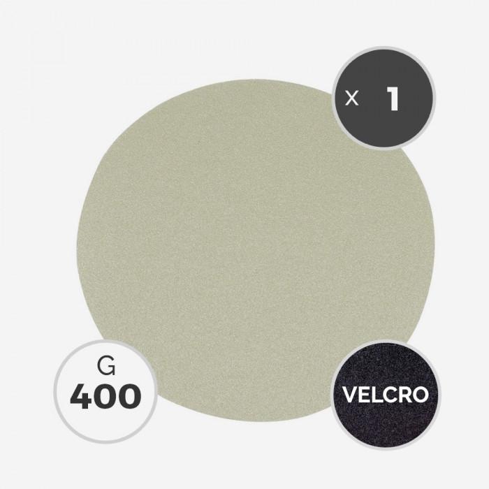 Disque à poncer - diam. 205mm - grain 400 (1 disque) - White Line, 3M