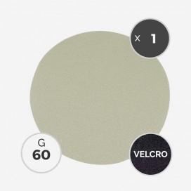 Disque à poncer - diam. 205mm - grain 60 (1 disque) - White Line, 3M