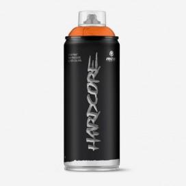Bombe de peinture Hardcore 2 - Orange - 400ml, MONTANA