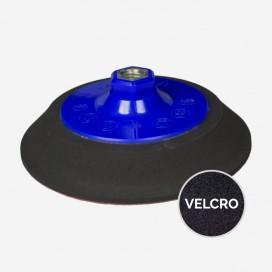 "PAD / PLATEAU DE PONCAGE 200mm (8"") SUPER HARD : Accroche - velcro, Filetage - M14 (europe)"