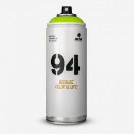 Bombe de peinture MTN 94 Vert Laos - 400ml, MONTANA