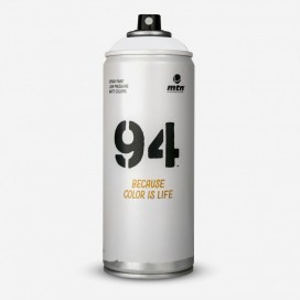 Bombe de peinture MTN 94 Gris Stardust - 400ml, MONTANA