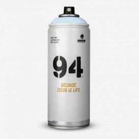 Bombe de peinture MTN 94 Bleu Pluie - 400ml, MONTANA